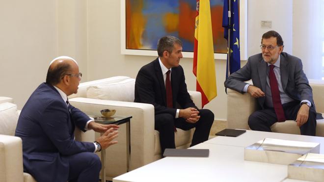 Rajoy descarta en su ronda de contactos la gran coalición con el PSOE