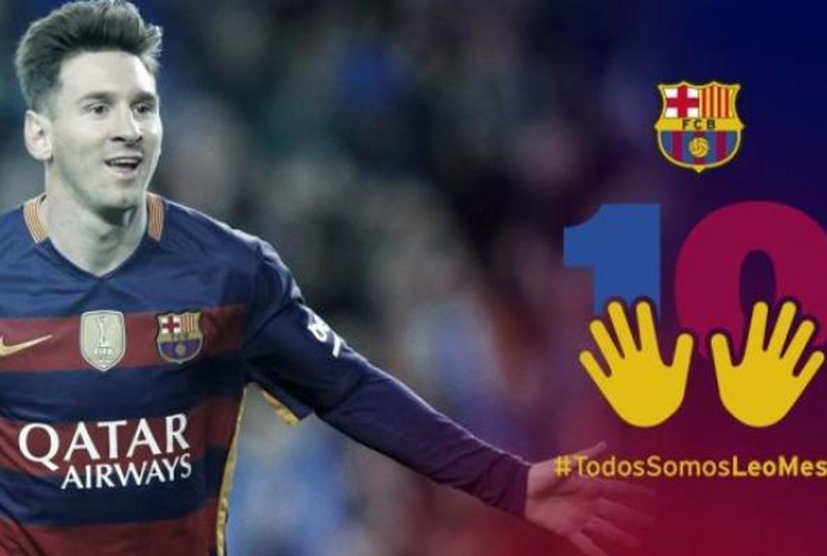 Los técnicos de Hacienda piden al Barça que dé marcha atrás a su campaña de apoyo a Messi