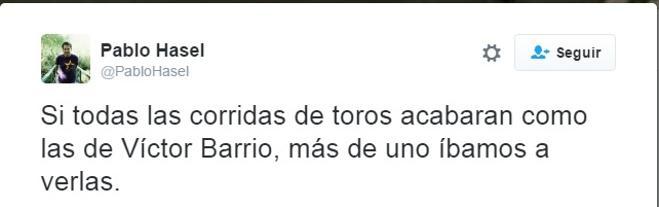 Los tuits más inhumanos por el fallecimiento de Victor Barrio