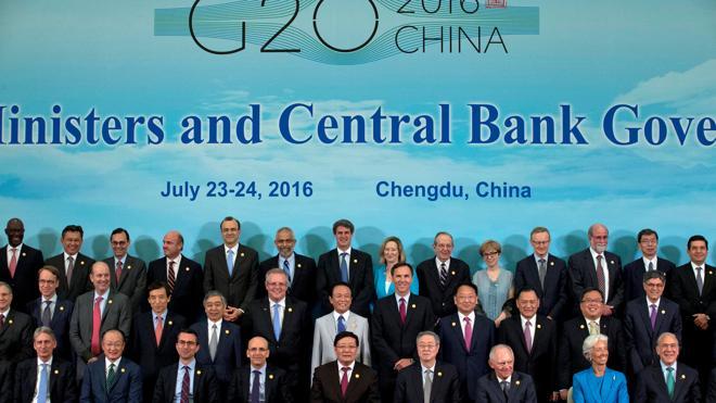 El G-20 advierte sobre los riesgos del 'Brexit' para la economía mundial