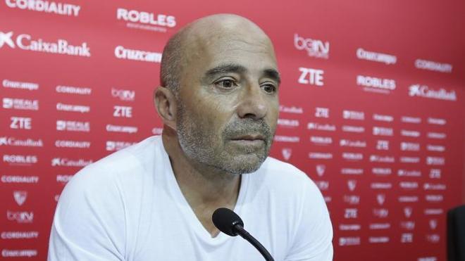 Sampaoli: «Queremos rebelarnos y jugar sin ningún temor»
