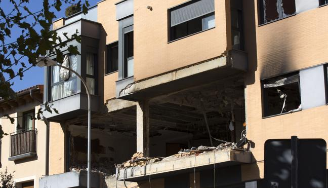 Un desaparecido tras una explosión en una vivienda de Tudela