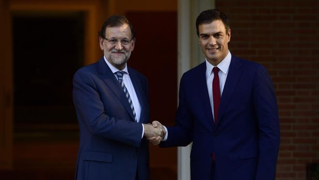 Rajoy y Sánchez se reunirán este lunes en el Congreso