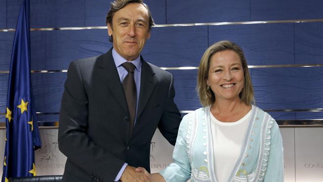 PP y Coalición Canaria sellan su acuerdo a unas horas de la investidura