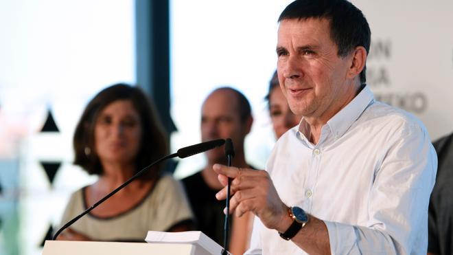 Otegi presenta una guía de propuestas que incluye acelerar el desarme de ETA