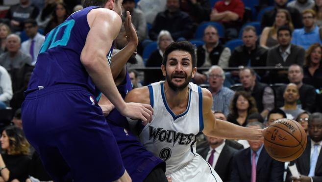 Ricky Rubio roza el 'triple-doble' pero los Timberwolves vuelven a perder