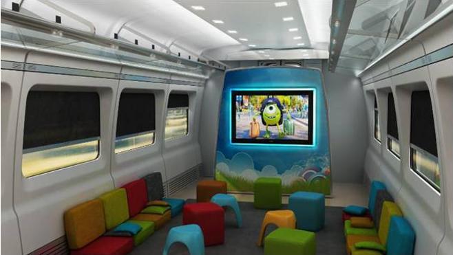 Pantallas LED, wifi y guarderías: así serán los nuevos trenes AVE