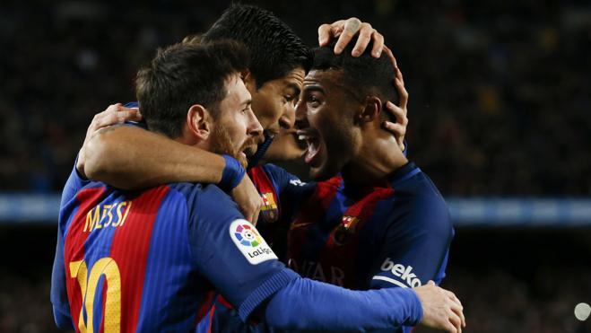 Messi completa la obra del tridente
