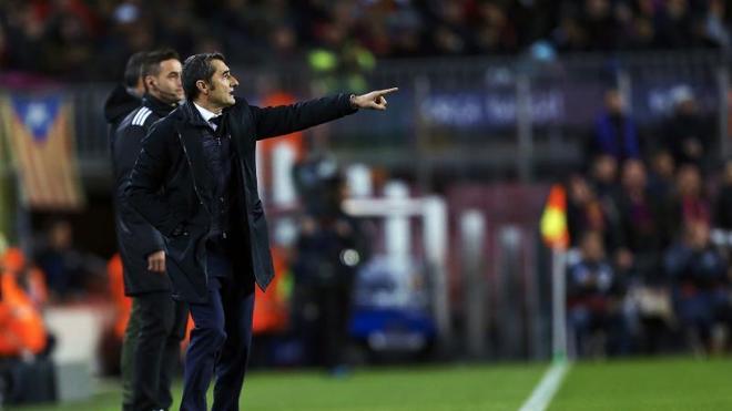 Valverde: «Han estado mejor que nosotros»
