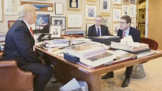 Trump cree que el Brexit será un «éxito» y plantea un acuerdo comercial con Londres