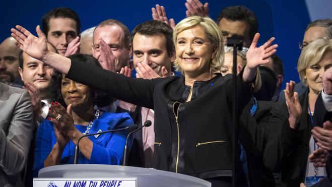 Le Pen reivindica la lucha contra la globalización y el fundamentalismo islámico