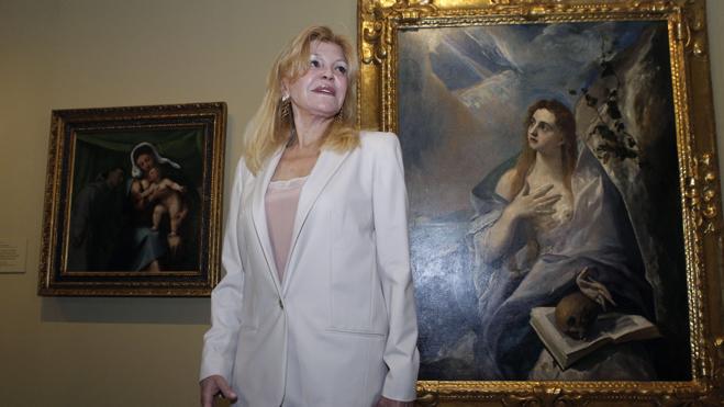 Carmen Thyssen dice que tiene libertad para vender cuadros de su colección
