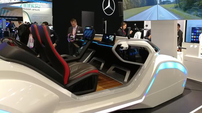 El coche del futuro se hace presente en el MWC