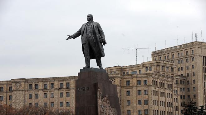 Subastan una estatua de Lenin en Ucrania por 8.000 euros