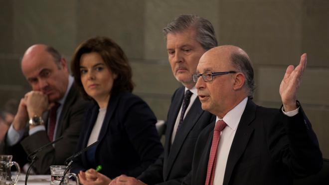 El Gobierno ve cerca salvar los primeros vetos a las cuentas de 2017