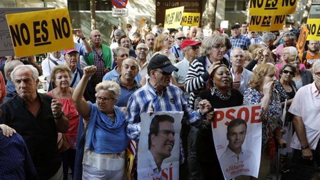 El PSOE pierde afiliados