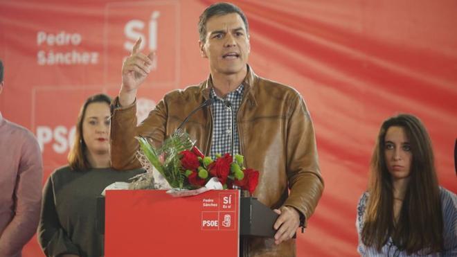 Pedro Sánchez: «No habrá dique que pare el cambio en las fuerzas socialistas»