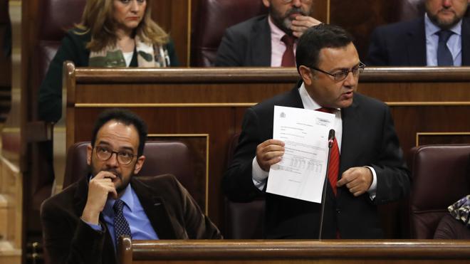 La división en el PSOE rebrota por una grabación al número dos del Congreso