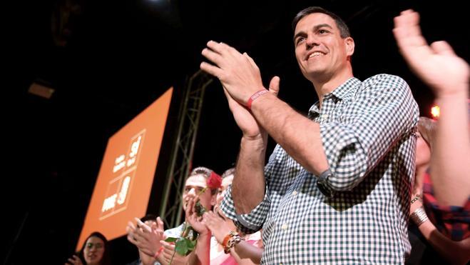 Pedro Sánchez ha gastado o comprometido 95.000 euros de su 'crowdfunding'