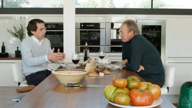 La entrevista a Aznar lleva al programa de Bertín a su peor dato de audiencia