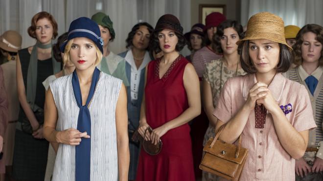 'Las chicas del cable' de Netflix, pioneras en la ficción y en la realidad