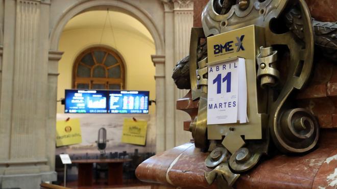 El Ibex cierra con pérdidas del 0,21% hasta los 10.416 puntos