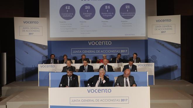 Recuperar el dividendo, objetivo prioritario de Vocento en 2017