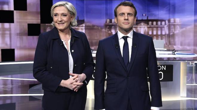 Choque frontal en el debate crucial entre Macron y Le Pen
