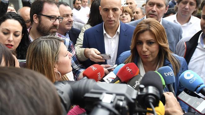 Díaz, sobre Sánchez: «Hay quien está contento por ser segundo por tercera vez»