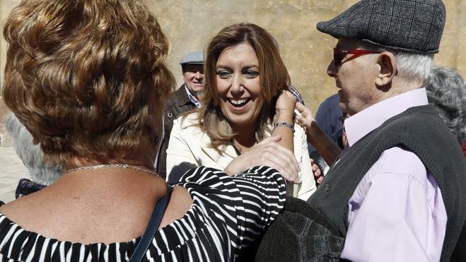 Susana Díaz asegura que se «dejará la piel» en Cataluña para obtener más votos