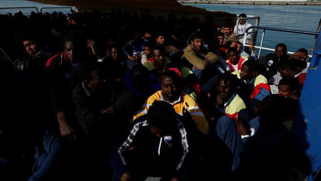 Unos 6.000 migrantes han sido rescatados en el Mediterráneo en dos días
