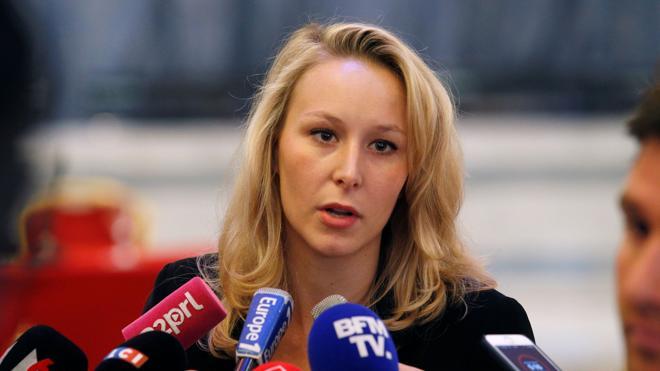 La sobrina de Marine Le Pen, Marion Maréchal, deja la política
