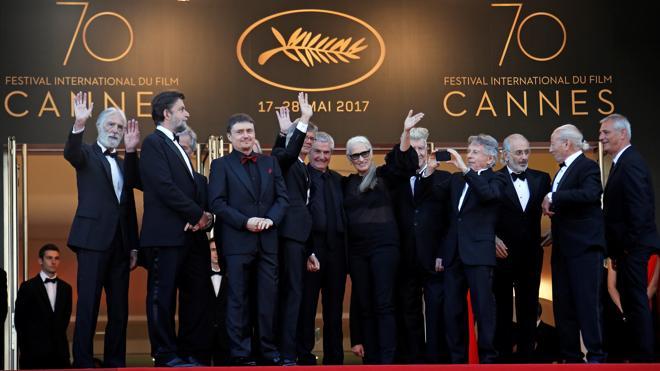 La alfombra roja de Cannes se cubre de estrellas para celebrar los 70 años del festival