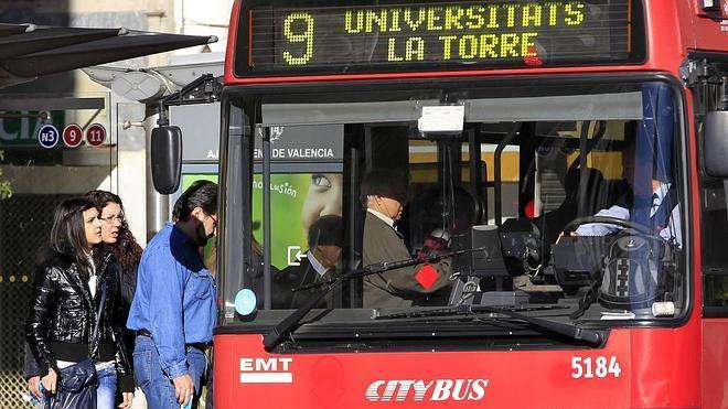 Valencia, la tercera ciudad con el transporte urbano más caro