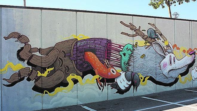 Crean una ruta de los murales de arte urbano
