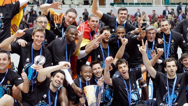 El Valencia Basket, campeón de la Eurocup