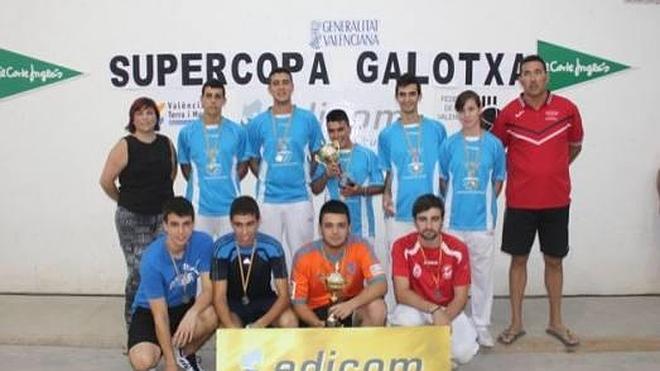 Montserrat, campeón juvenil de la «XIX Supercopa 2014», de galotxa