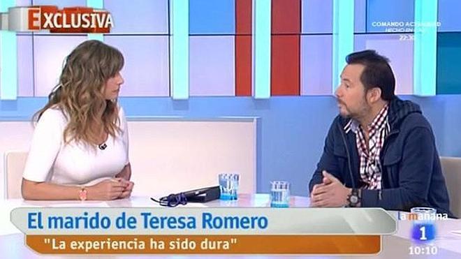 Mariló Montero al marido de Teresa Romero: «Es feo judicializar esto»