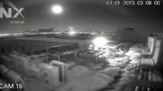 Cae un meteorito en Rumania
