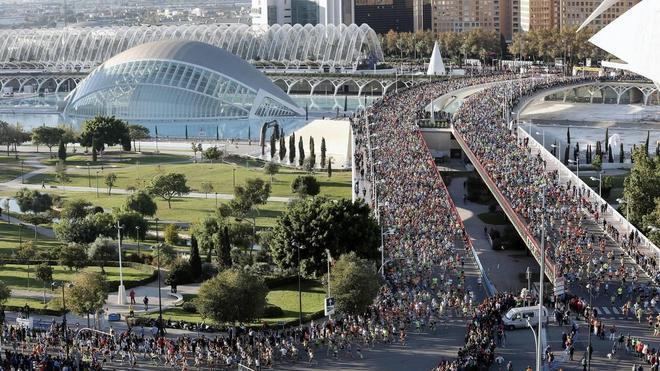 El turismo del maratón de Valencia deja más de 10 millones de euros en la ciudad