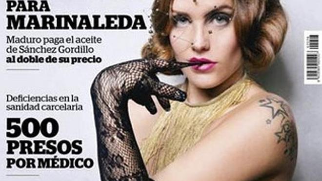 'Interviú' desnuda en su portada a Lucy López