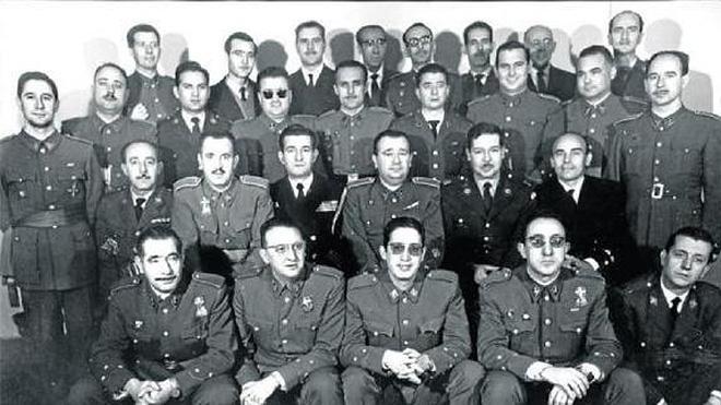 Los espías de Franco