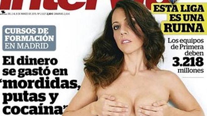'Interviú' desnuda a la mujer de Rodríguez Menéndez
