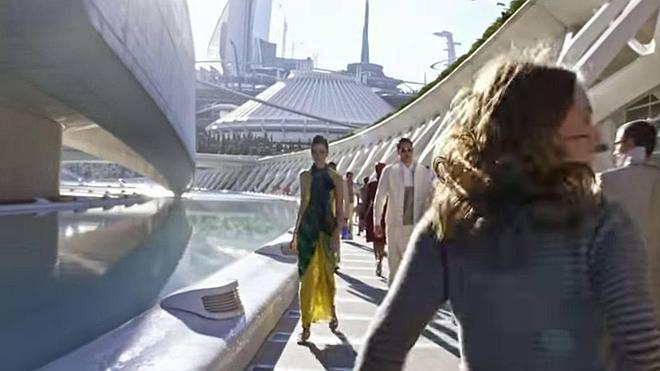 Así se ve la Ciudad de las Artes y las Ciencias en la película 'Tomorrowland'