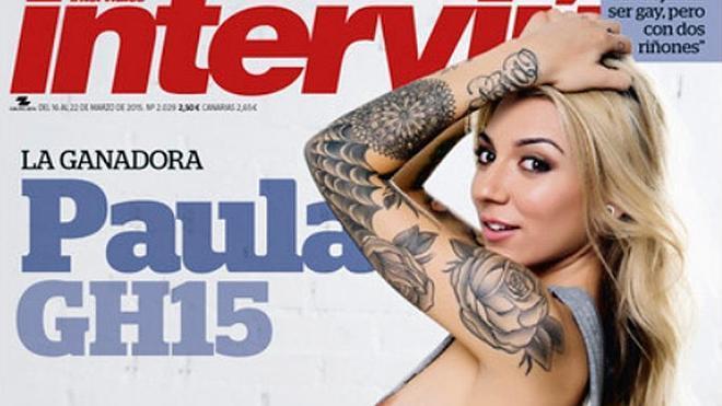 Paula, de Gran Hermano, desnuda en Interviú