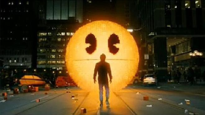 Pixels, la película de Pac-man, llega a los cines