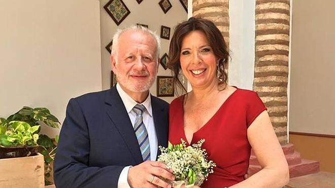 Juan Echanove y Cuchita Lluch se casan en Rocafort