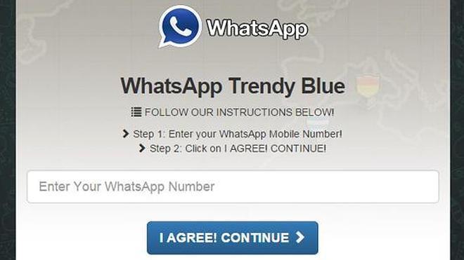 'Whatsapp Trendy Blue', la última estafa de internet