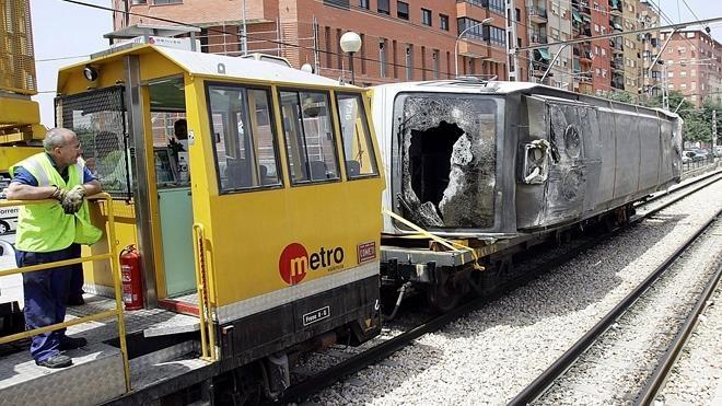 El metro accidentado en 2006 no tuvo vigilancia, según el exjefe de seguridad