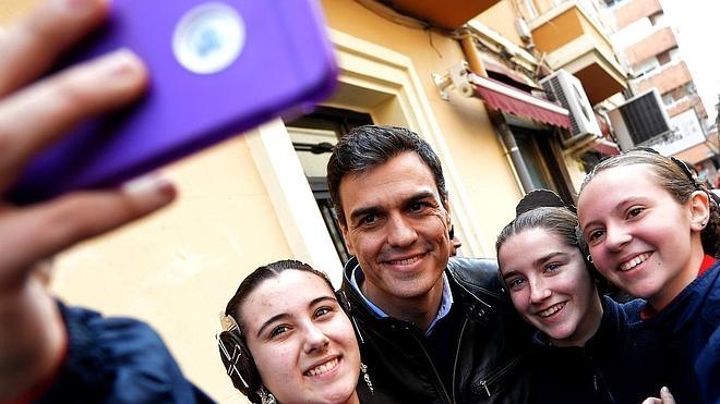 El día de Pedro Sánchez en las Fallas 2016
